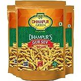 Dhampure Speciality Gur Besan Sev - Jaggery Snacks -450g (150g x 3)