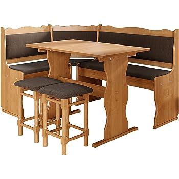 Inter Link Alpine Living Eckbank Gruppe Tisch Stuhle Kucheneckbank