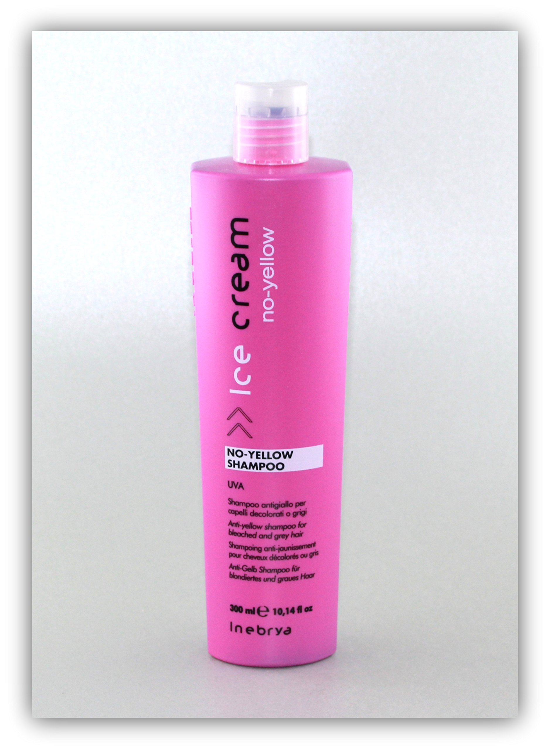 Inebrya ICE CREAM No Yellow Shampoo 300 ml