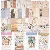120Feuilles Autocollants Papiers Journal Bullet Etiquettes Scrapbooking Décoratifs Stickers Adhésif Gommettes Vintage Papeter