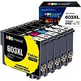 GPC Image 603XL Compatibile per Epson 603 603 XL cartucce d'inchiostro per Epson Expression Home XP-2100 XP-2105 XP-3100 XP-3