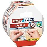 tesa Pack EXPRESS, Transparant, 50m x 50mm