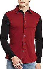 GRITSTONES Men's Full Sleeves Shirt