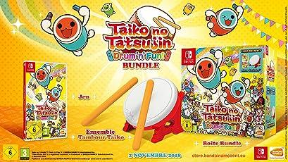 Taiko no Tatsujin: Drum 'n' Fun! - Bundle inkl. Trommel - (exklusiv bei Amazon.de) - [Nintendo Switch]
