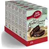 Betty Crocker Delights Gooey Salted Caramel Brownie Cake Mix 430g (Pack of 4)