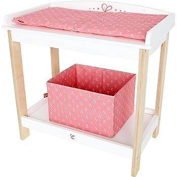 Table a langer 2 en 1 avec baignoire accessoire poupee - Table a langer en bois avec baignoire ...