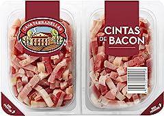 Casa Tarradellas Cintas de Bacon, 2 x 100g