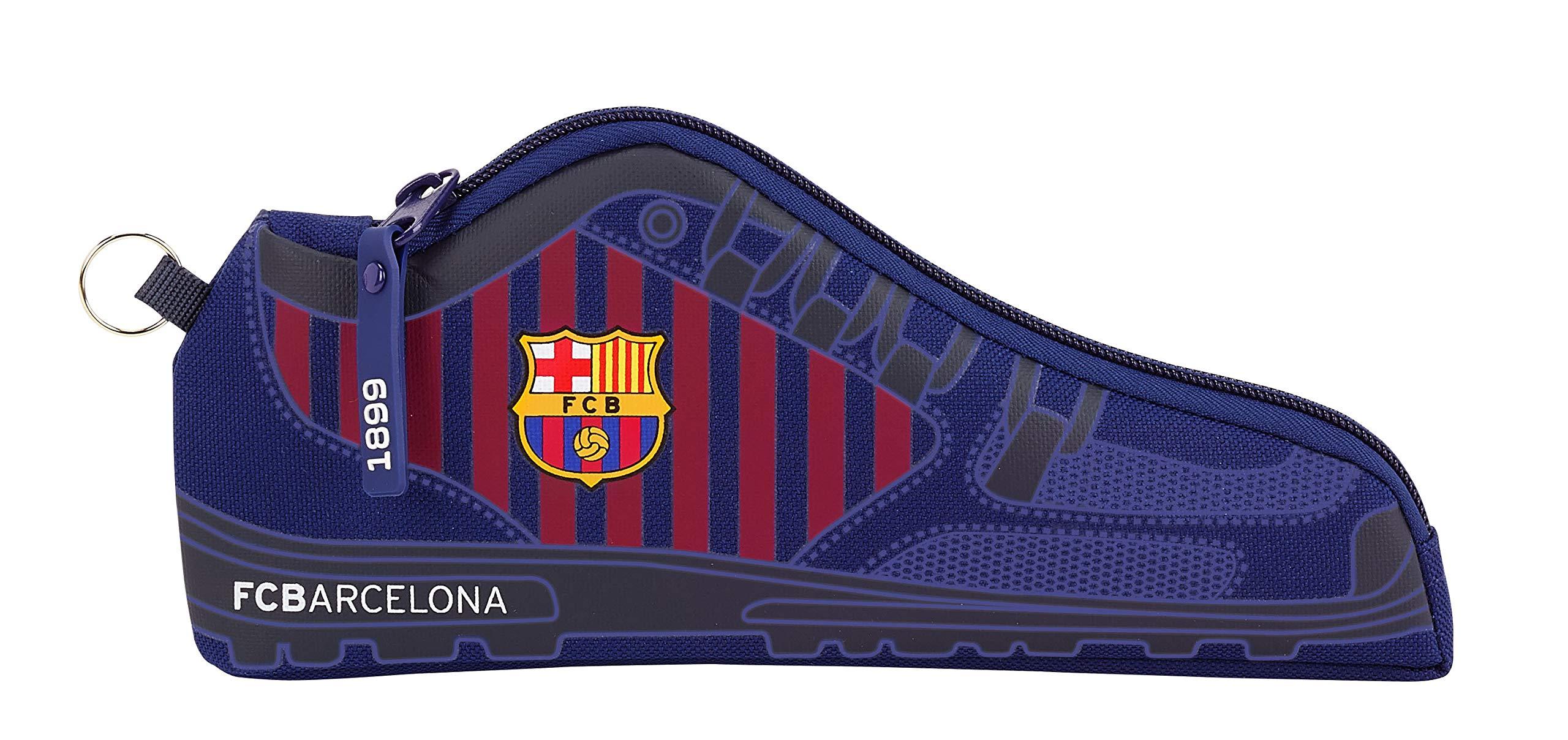 FC Barcelona 811829584 2018 Estuches 24 cm, Azul