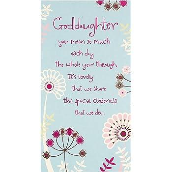 Hallmark Goddaughter Birthday Cardfilled With Love Medium