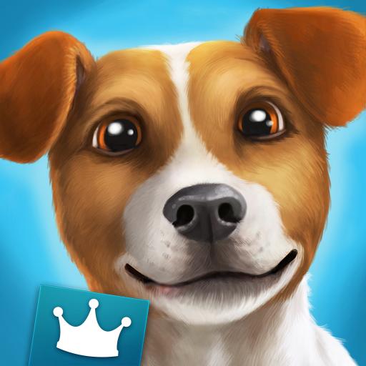 DogHotel Premium - Mein Hotel für Labrador, Terrier und Bulldoggen (Pitbull Dusche)