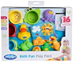 Playgro Banyo Oyun Seti Bebek Oyuncak ÇOK RENKLI