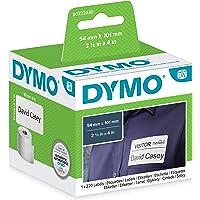 DYMO LW 99014 Étiquettes / badges d'expédition, blanc, 54 mm x 101 mm