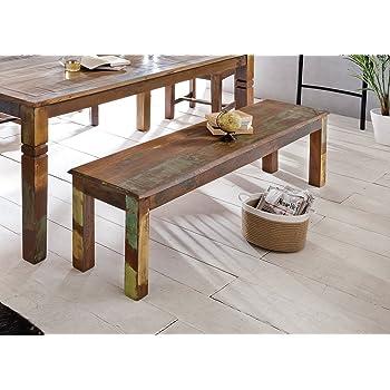 finebuy esszimmer sitzbank massiv holz akazie 120 x 45 x 40 cm design holz bank natur produkt. Black Bedroom Furniture Sets. Home Design Ideas
