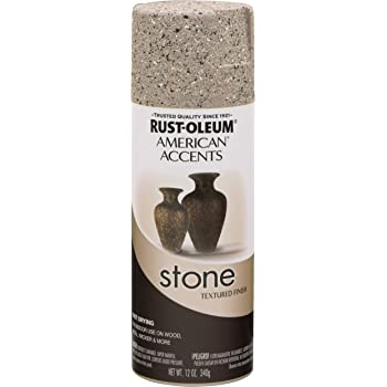 Rust-Oleum 7995830 American Accents Stone Textured Spray Paint - PEBBLE