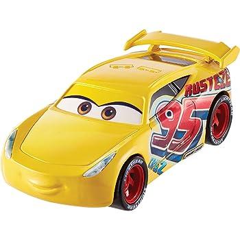 disney pixar cars petite voiture cruz ramirez dinoco jaune jouet pour enfant dxv71. Black Bedroom Furniture Sets. Home Design Ideas