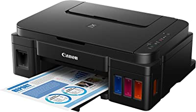 Canon Pixma G2000 All-in-One Ink Tank Colour Printer (Black)
