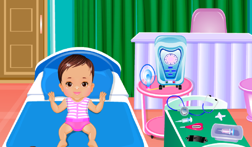 baby doctor games for girls