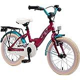 BIKESTAR Kinderfahrrad für Mädchen ab 4-5 Jahre | 16 Zoll Kinderrad Classic | Fahrrad für Kinder | Risikofrei Testen