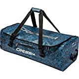 Cressi Goriila Bag or Pro Bag, Bolsa de buceo impermeable, tamaño grande 135 LT, con o sin ruedas, adulto unisex