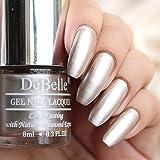 DeBelle Gel Nail Polish Chrome Beige (Metallic Beige Nail Polish), 8ml