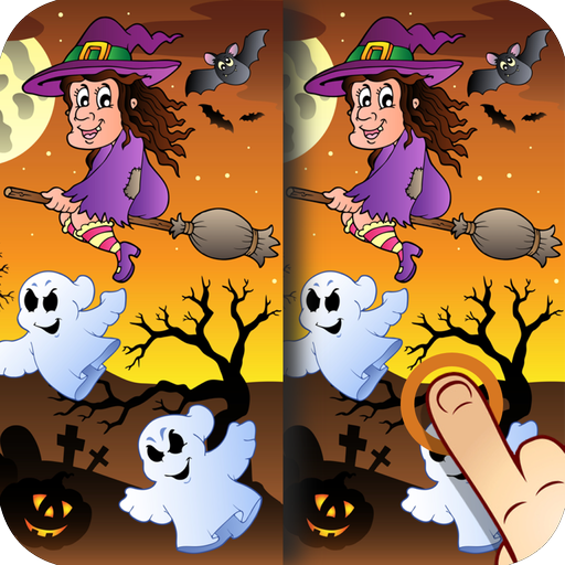 Halloween Finde die Unterschiede für Kinder und (Erwachsene Verkleiden)