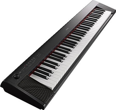 yamaha np32b clavier 76 touches dynamiques a effet gradue - noir