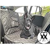 Cadosoigh Coprisedile per Cani Posteriore Universale per Sedile dell'Auto per Animali Domestici Impermeabile Spesso…
