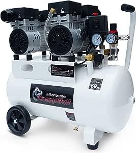 Knappwulf Kompressor Mucksmäuschenstill Modell Kw2050 8bar Druckluftkompressor 69db Baumarkt