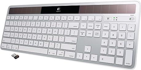 Logitech Wireless Solar Keyboard K750 for Mac - Silver (920-003472)
