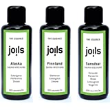 JOILS Kennenlern-Set I Saunaaufguss, naturrein, 3x 50ml, 100% naturreines Öl für Ihre Sauna, Saunaöl naturrein ätherisch und