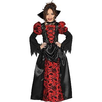Costume da contessa vampiro per bambina Halloween 7 9 anni (122 134 ... 27eb77be4e1c