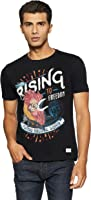 Flying Machine Men's Printed Regular Fit T-Shirt