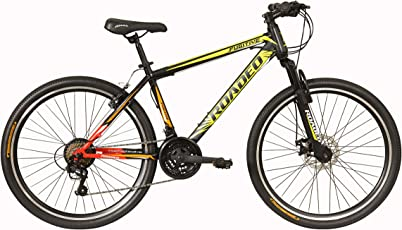 Hercules Roadeo Fugitive 27.5T 21 Gear Steel Hybrid Cycle (Black) 17inch Frame