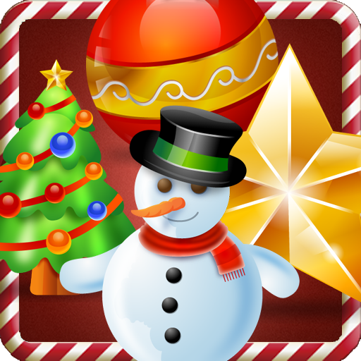 Christmas game match 3 - A Christmas sweeper family puzzle