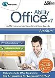 Ability Office 7 - Die zuverlässige Office-Alternative (2016 und früher) für Heimanwender, Studenten und kleine Gewerbe - Microsoft 10/8/7/Vista [Download]