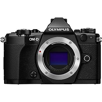 "Olympus OM-D E-M5 Mark II Systemkamera (16 MP, 3"" TFT LCD, Full HD, HDR, 5-Achsen Bildstabilisator) nur Gehäuse schwarz"