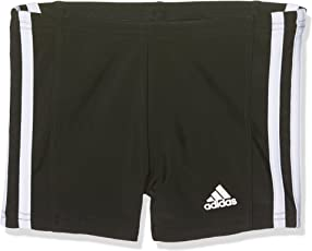 adidas Jungen Infinitex Essence Core 3-Stripes Boxer-Badehose