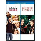 Definitely Maybe / Because I Said So [DVD] [Region 1] [US Import] [NTSC]