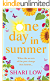 One Day In Summer: The perfect uplifting read for 2020 from Shari Low