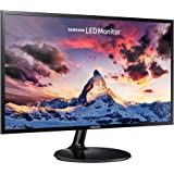 "Samsung S24F354 - Monitor de 24"" Full HD (1920x1080, 4 ms, 60 Hz, LED, 16:9, 1000:1, 250 cd/m², 178°, HDMI, VGA, Base Redonda"