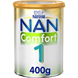 Nestle NAN COMFORT 1, From birth to 6 months, Starter Infant Formula for Colic, Gas, and Constipation, Fortified with Iron, 4