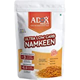 ADOR Health Ultra Low Carbohydrate Namkeen bhujia- (190 Gram)- Keto Food Products and Snacks | <3 g Net Carb Per Serving