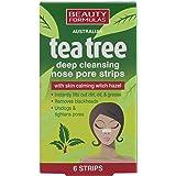 Beauty Formulas Australian Tea Tree dieptereiniging neus poriën strips-6 strepen van