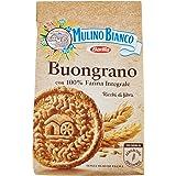 Mulino Bianco Biscotti Buongrano con 100% Farina Integrale, 350g
