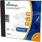 MediaRange CD DVD BD Laser Reinigungs-CD mit antistatischer Bürste