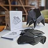 CARAPACES Bauset Origami (schwarz)