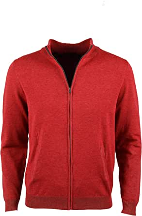 0004Voray Ga - Giacca basic in maglia con cerniera