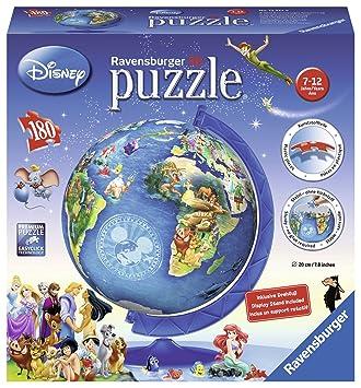 Ravensburger disney world map 3d puzzle 180 pieces amazon ravensburger disney world map 3d puzzle 180 pieces gumiabroncs Images