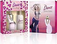 Shakira Dance Eau de Toilette, 80ml and Deodorant Spray, 150ml