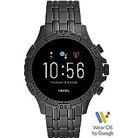 Fossil Garrett HR Smartwatch Gen 5 mit Touchscreen, Herzfrequenzmesser, GPS, NFC und Smartphone Benachrichtigungen